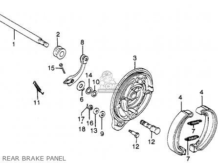 Honda Xl350 1978 Usa parts list partsmanual partsfiche