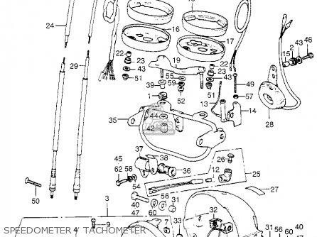 Honda Xl350 K0 1974 Usa parts list partsmanual partsfiche