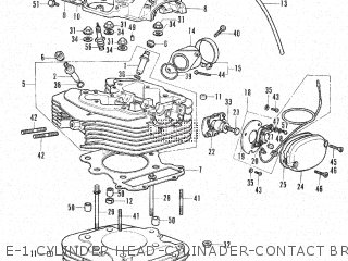 Honda XL350K1 U.S.A parts lists and schematics