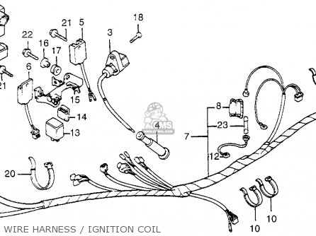 Honda XL350R 1984 (E) USA parts lists and schematics