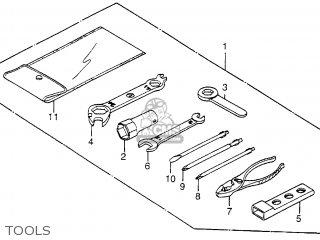 Honda Xl350r 1984 Usa parts list partsmanual partsfiche
