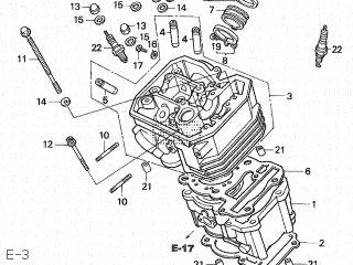 Honda XL400V 1994 (R) JAPAN ND06-110 parts lists and