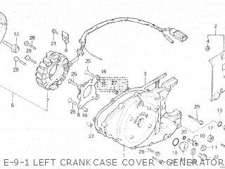 Honda XL500R 1982 (C) BELGIUM parts lists and schematics