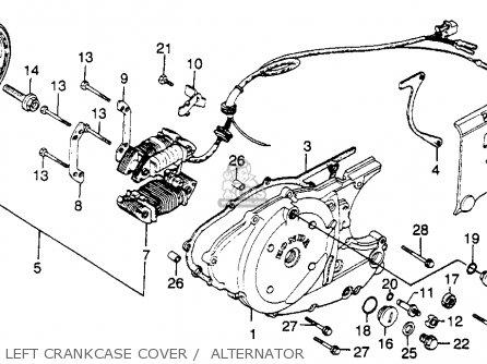 Honda XL500S 1979 (Z) USA parts lists and schematics