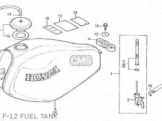 Honda XL500S 1980 (A) BELGIUM parts lists and schematics