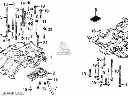 Honda Xl500s 1981 Usa parts list partsmanual partsfiche