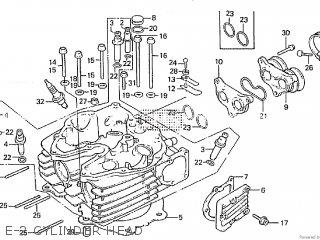 Honda XL600L 1984 (E) parts lists and schematics