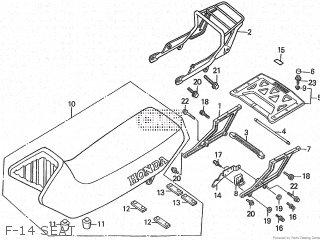 Honda XL600LM 1985 (F) parts lists and schematics