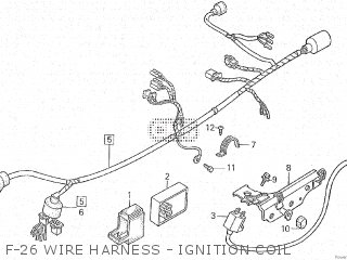 Honda XL600LM 1987 (H) parts lists and schematics