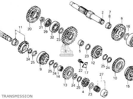 Honda XL600R 1983 (D) USA parts lists and schematics
