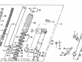 Honda XL600R 1984 (E) parts lists and schematics