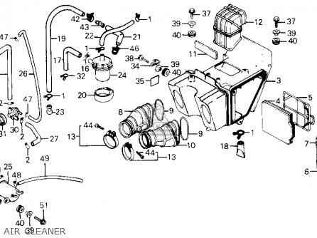 Honda Xl600r 1985 (f) Usa parts list partsmanual partsfiche
