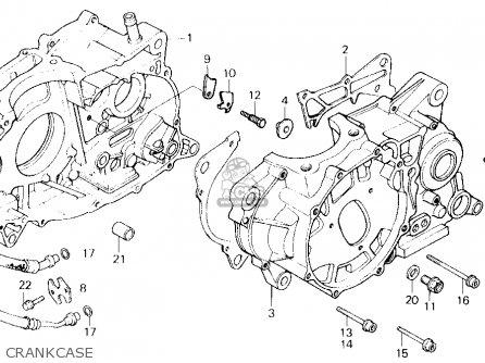 Honda XL600R 1985 (F) USA parts lists and schematics