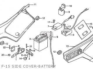 Honda XL600R 1986 (G) parts lists and schematics