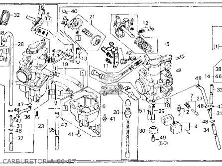 1986 Honda xl600r specs
