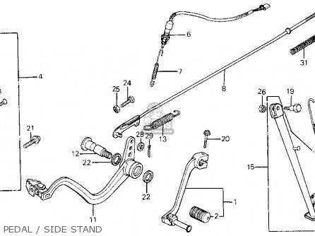Honda Xl600r 1987 (h) Usa parts list partsmanual partsfiche