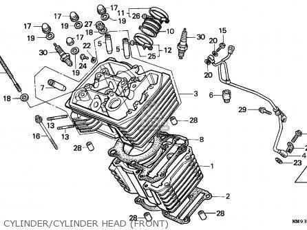 Honda Xl600v Transalp 1987 (h) Australia parts list