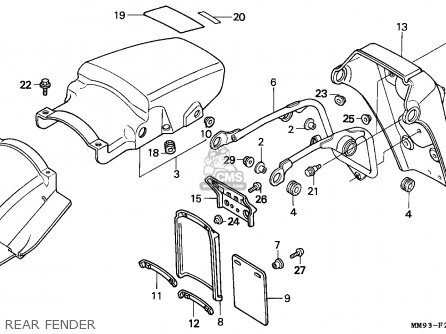 Honda Xl600v Transalp 1987 (h) Italy parts list