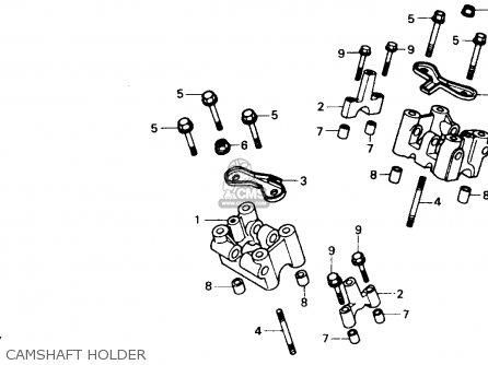 Honda XL600V TRANSALP 1989 (K) USA parts lists and schematics