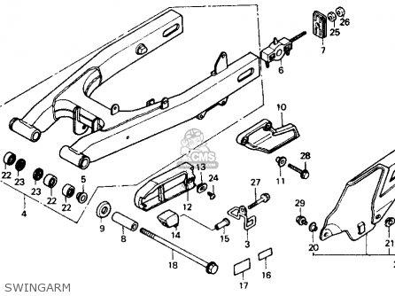 Honda Xl600v Transalp 1989 Usa parts list partsmanual