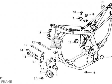 Honda Xl600v Transalp 1990 Usa parts list partsmanual