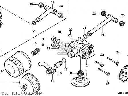 Honda XL600V TRANSALP 1994 (R) GERMANY 27P parts lists and
