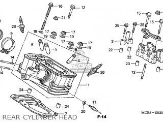 Honda XL650V TRANSALP 2003 (3) ENGLAND parts lists and