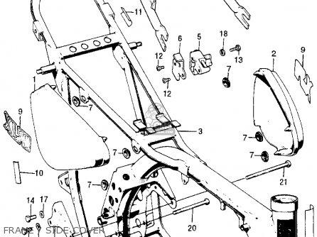 Honda Xl70 K0 1976 Usa parts list partsmanual partsfiche
