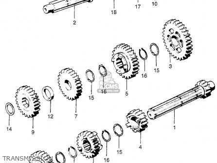 Honda Xl70 K0 Usa parts list partsmanual partsfiche
