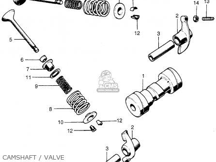 Honda Xl70 K1 Usa parts list partsmanual partsfiche