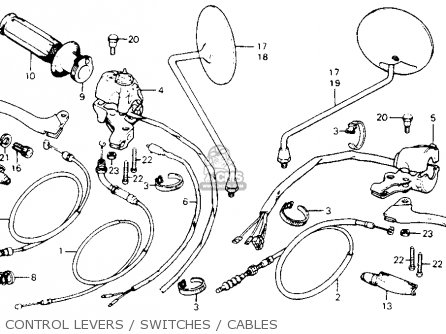 Honda XL80S 1980 (A) USA parts lists and schematics