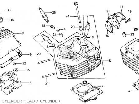 1983 Honda part xl80s