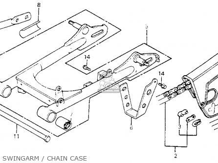 Honda Xl80s 1981 Usa parts list partsmanual partsfiche