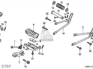 Honda XLR125R 1998 (W) GERMANY / KPH parts lists and