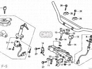 Honda XLR200R 1993 (P) JAPAN MD29-100 parts lists and