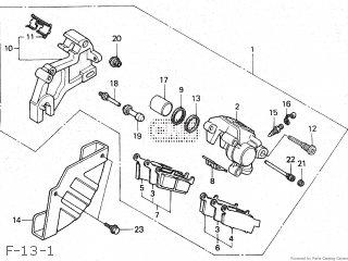Honda XLR250R TYPE III 1988 (J) JAPAN MD22-100 parts lists