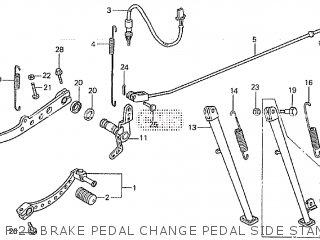 Honda XLV750R 1983 (D) parts lists and schematics