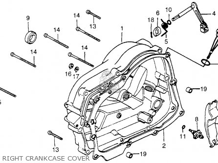Honda Xr100 1982 Usa parts list partsmanual partsfiche