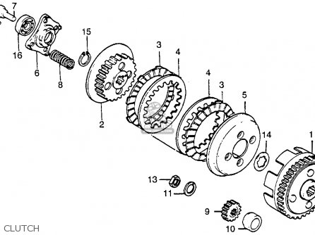 Honda Xr100 1983 (d) Usa parts list partsmanual partsfiche
