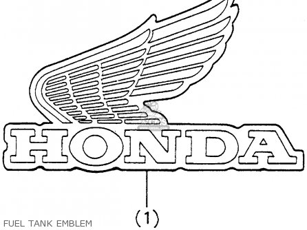 Honda Xr100 1983 (d) Usa parts list partsmanual partsfiche
