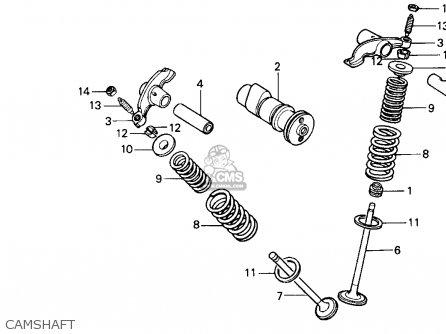 Honda Xr100r 1985 (f) Usa parts list partsmanual partsfiche