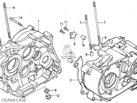Honda Xr100r 1985 Usa parts list partsmanual partsfiche