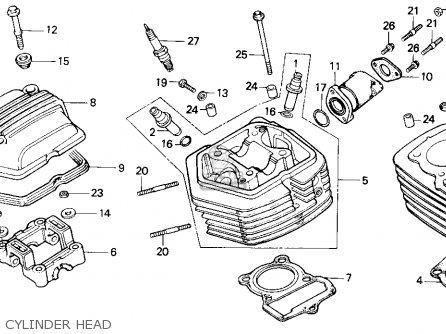 Honda Xr100r 1991 (m) Usa parts list partsmanual partsfiche