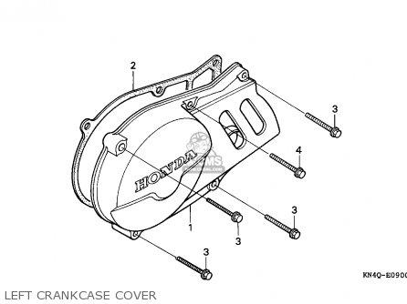 Honda XR100R 1994 (R) CANADA REF parts lists and schematics