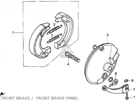 Honda Xr100r 1994 (r) Usa parts list partsmanual partsfiche