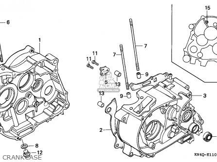 Honda Xr100r 1995 (s) Canada Ref parts list partsmanual