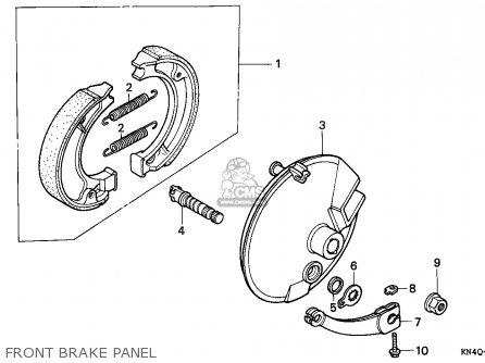 Honda XR100R 1995 (S) CANADA REF parts lists and schematics
