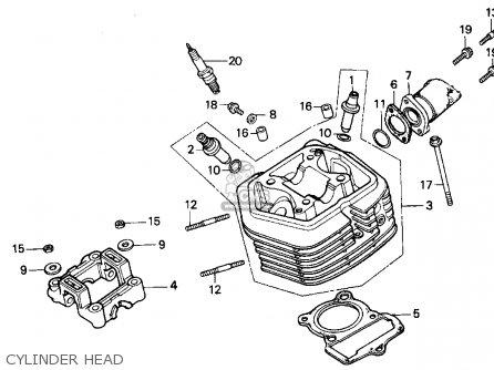 Honda XR100R 1996 (T) USA parts lists and schematics
