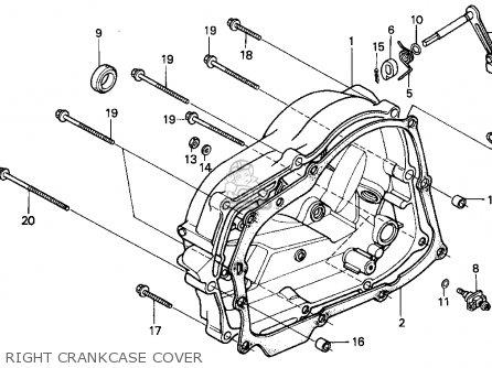 Honda XR100R 1997 (V) USA parts lists and schematics