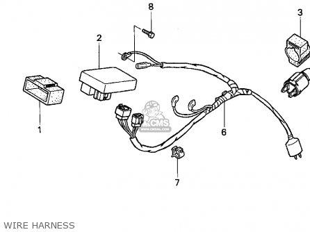 Honda Xr100r 1997 (v) Usa parts list partsmanual partsfiche